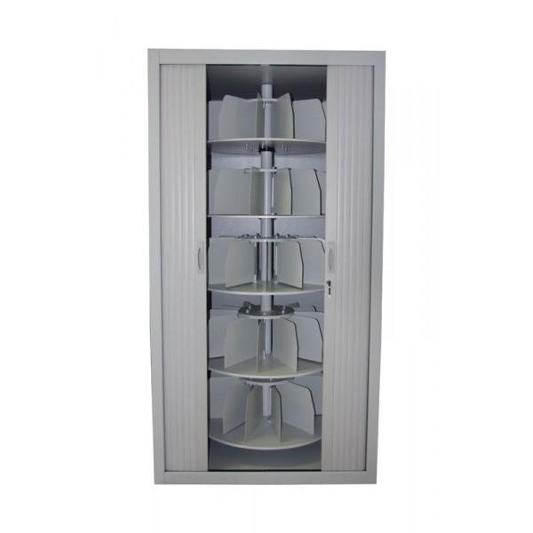 armoire rotative 5 niveaux classer vos dossiers dans un. Black Bedroom Furniture Sets. Home Design Ideas